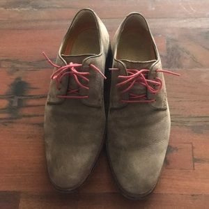 Cole Haan Grand.OS Lenox Hill Pebble Leather Oxfor